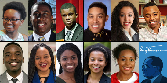2015 Truman Scholars
